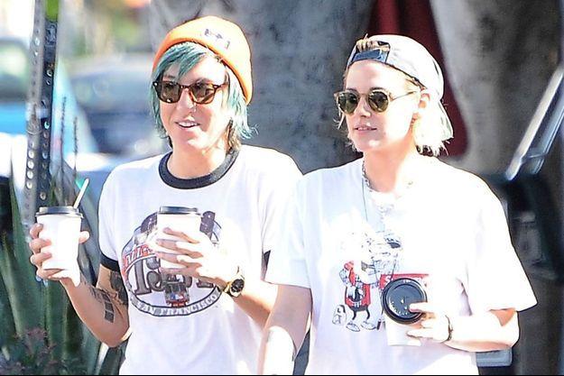 Kristen Stewart et sa petite-amie Alicia Cargile à Los Angeles.