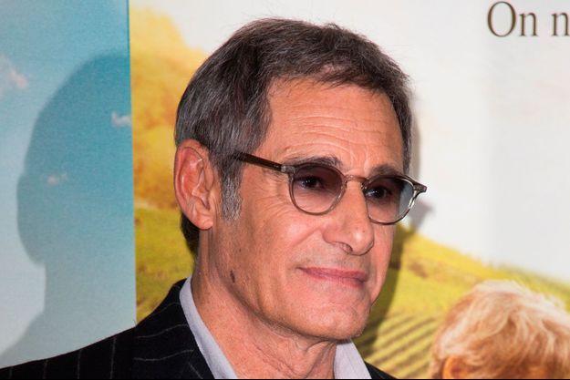 """Gérard Lanvin à l'avant première du film """"Premiers Crus""""."""