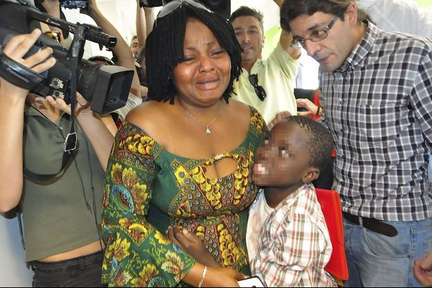 Adou Ouattara et sa mère Lucie