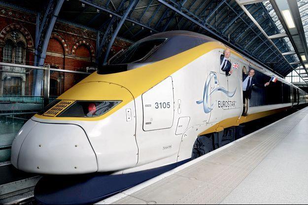 Dans la gare londonienne de Saint-Pancras, la rencontre de deux conducteurs, le Britannique Alan Pears et le Français Sébastien Soulié.