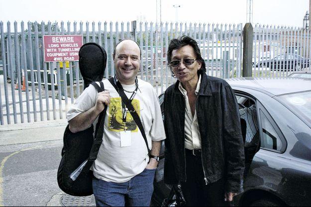 Stephen Segermen et Sixto Rodriguez à Londres en 2005, encore complices.