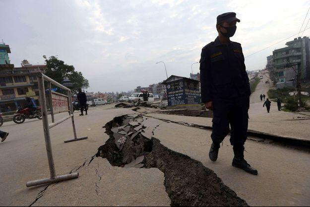 Une illustration de fissure sismique.