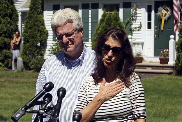 John et Diane Foley, les parents du journaliste américain James Foley.