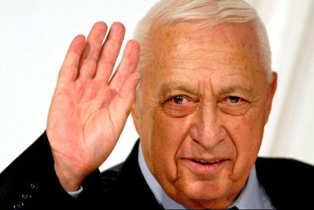 Ariel Sharon, en mars 2005.
