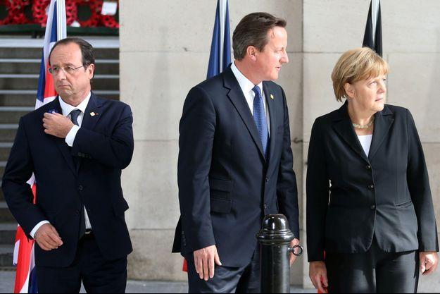 Avec une croissance plus forte qu'attendu, la Grande-Bretagne de David Cameron arrive en tête de l'Europe.