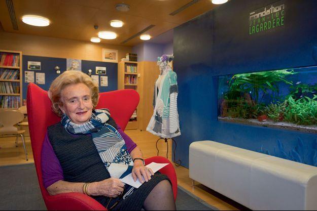 Bernadette Chirac à la Maison de Solenn qu'elle a fondée avec Patrick Poivre d'Arvor.