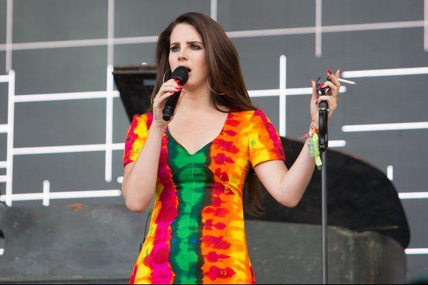 Lana del Rey, au Royaume-Uni, le 28 Juin 2014.