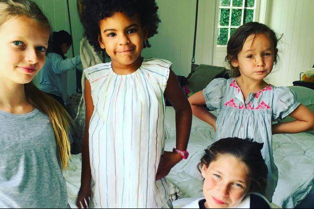 Apple et Blue Ivy à l'anniversaire de la fille de Gwyneth Paltrow, 2016