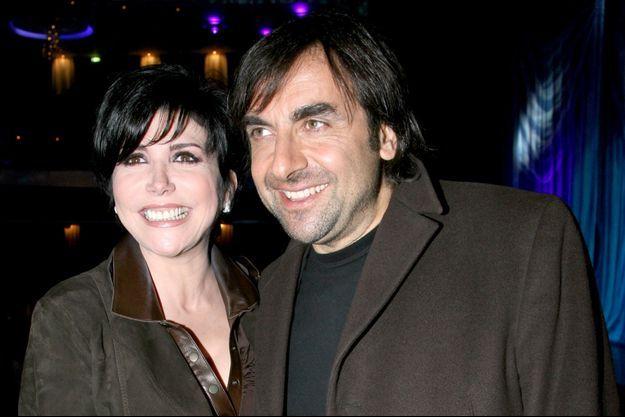 Liane Foly et André Manoukian, le 26 mars 2007.