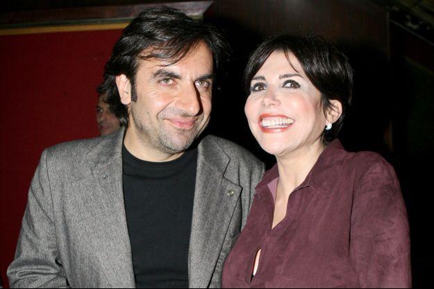 Liane Foly et André Manoukian, novembre 2006.