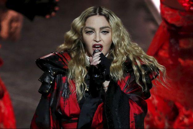 Madonna, le 20 février 2016