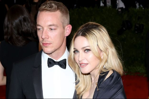 Madonna et le DJ Diplo à un gala au Metropolitan Museum of Art le 4 mai dernier.