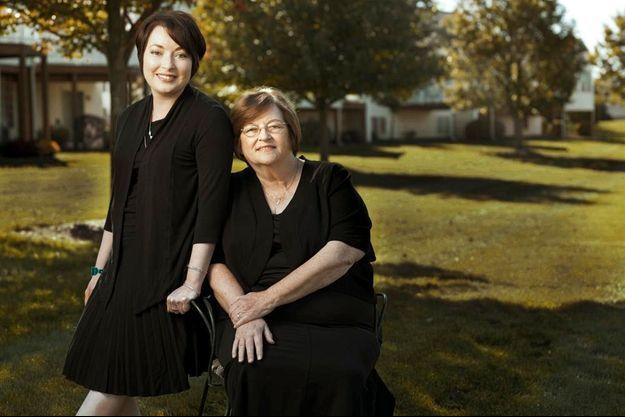 Vendredi 11 octobre 2013 : devant un lotissement de la banlieue de Grand Rapids, dans le Michigan, où vivent Mahtob et sa mère, Betty Mahmoody.