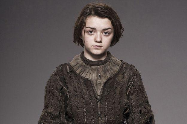 """Maisie Williams dans la peau d'Arya de """"Game of Thrones""""."""