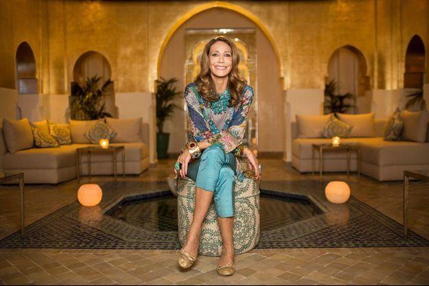 Ambiance orientale dans le spa du Sofitel Marrakech, décoré par Marisa Bereson.