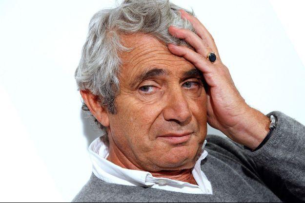 """Michel Boujenah, sociétaire des """"Grosses Têtes"""" de Laurent Ruquier."""