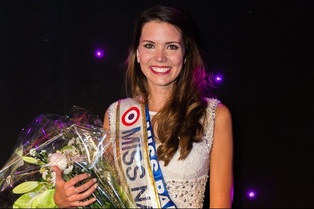 Allison Evrard, élue miss Nationale 2015.