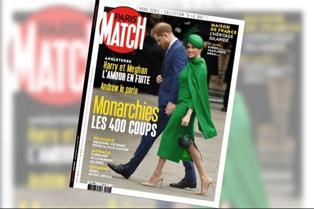 Notre hors-série « Monarchies, les 400 coups », 100 pages de photos et de reportages exclusifs consacrées aux frasques des têtes couronnées, en vente à partir du jeudi 2 avril chez votre marchand de journaux...