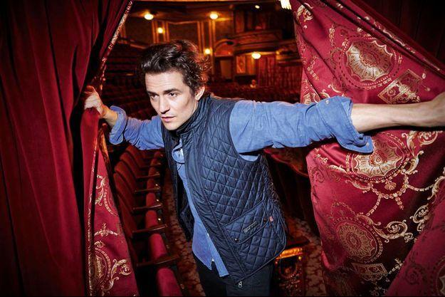 Orlando Bloom au Richard Rodgers Theater, à New York, où il joue « Roméo et Juliette » jusqu'en janvier prochain.