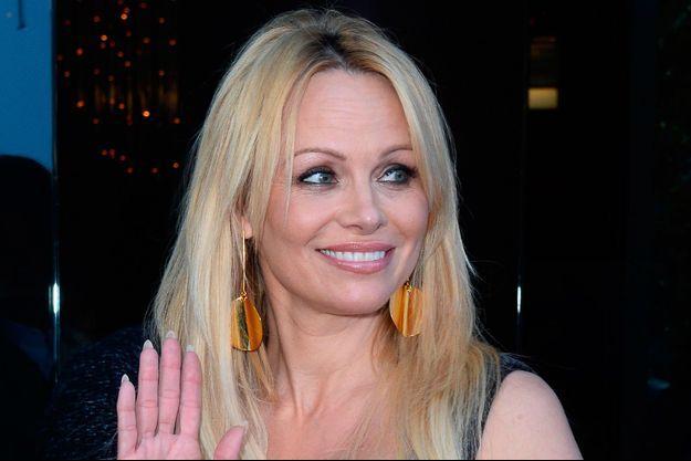 Pamela à la première du documentaire «Unity» à Los Angeles