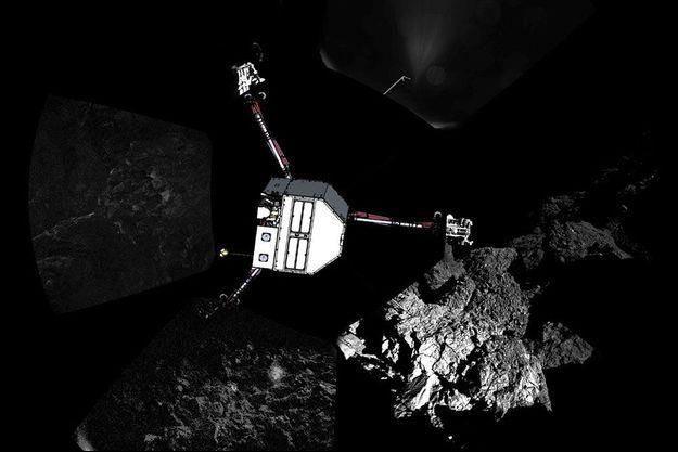 Illustration du robot Philae.