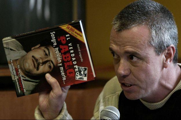 John Jairo Velasquez, photographié en 2006 alors qu'il témoignait à un procès, a été libéré.