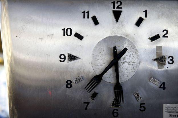 Illustration d'une horloge.
