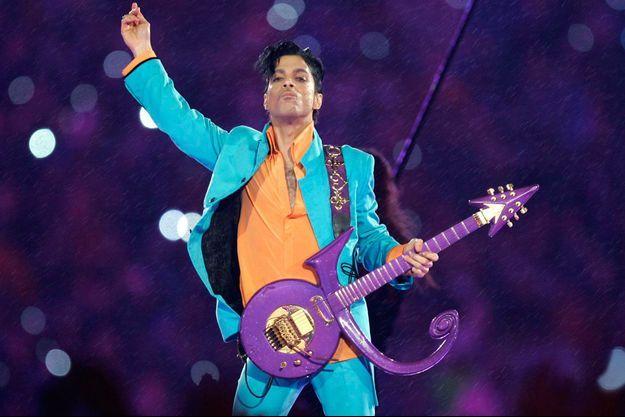 Prince au Super Bowl en 2007