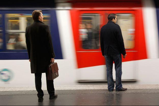 Le RER parisien (image d'illustration).