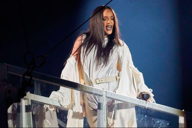 """Rihanna en concert à Oslo pour son """"ANTI World Tour"""""""