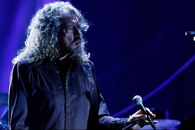 Robert Plant en concert à Montreux le 8 juillet.