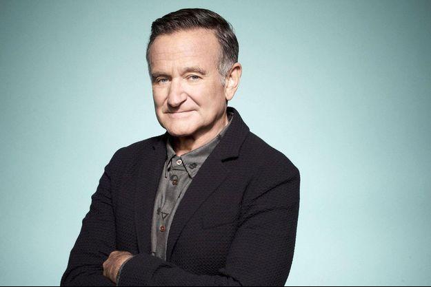 Robin Williams pose pour la série «The Crazy One».