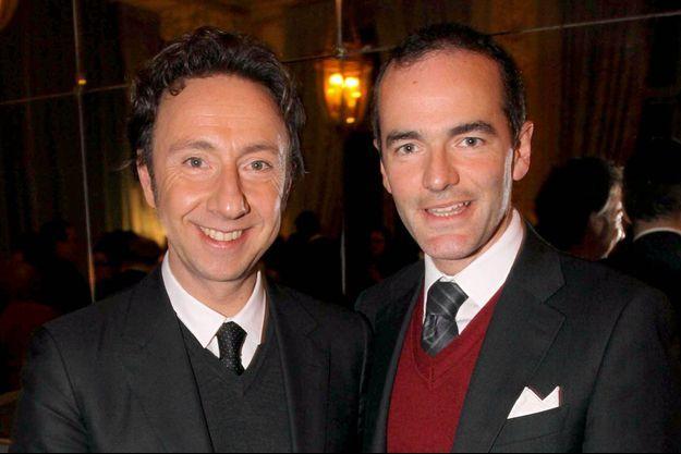 Stéphane Bern et Franck Ferrand vont co-écrire une série sur une famille royale.