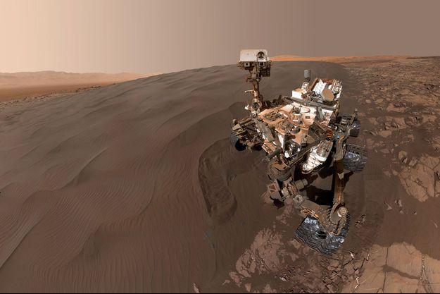 Curiosity sur Mars