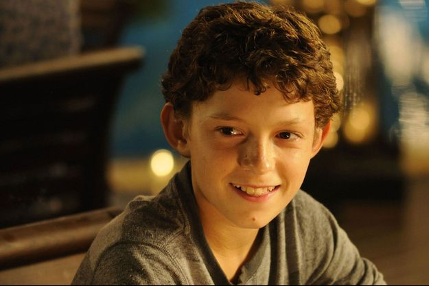 "Tom Holland dans le film ""The Impossible"" (2012)"