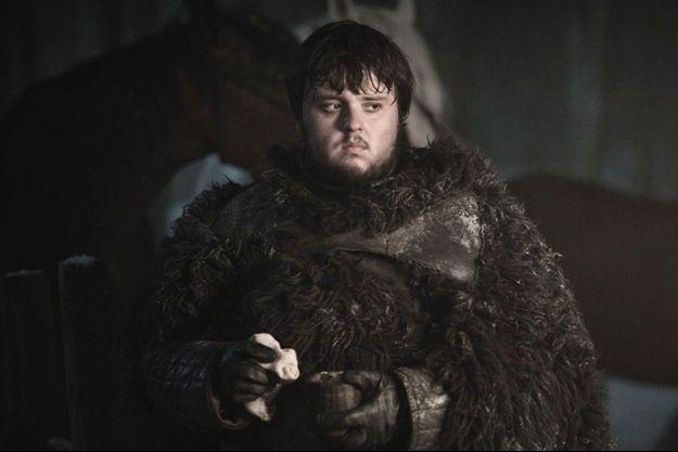 "Sam Tarly dans ""Game of Thrones""."