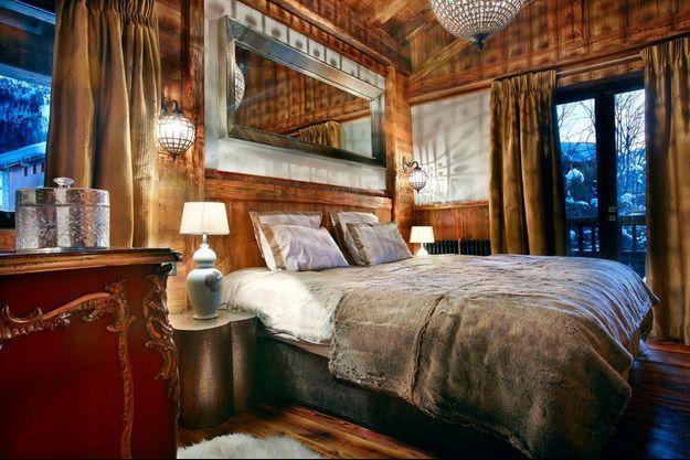 Une chambre du chalet Marco Polo.