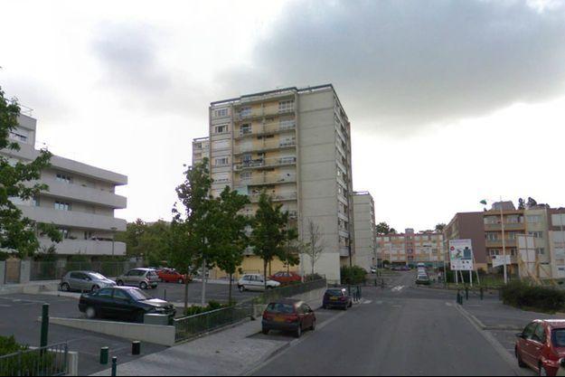 Capture écran Google Maps de la Place Georges Clemenceau à Sevran