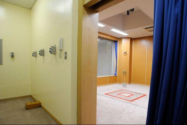 Une salle de pendaison à la maison d'arrêt de Tokyo