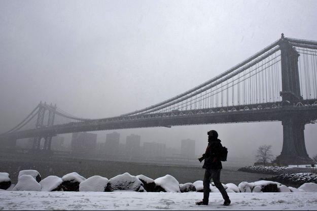 Le pont de Brooklyn, ici en mars 2013.