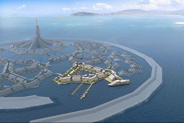 Un des investisseurs du projet à estimé qu'il faudrait 50 milliards de dollars pour bâtir la ville.