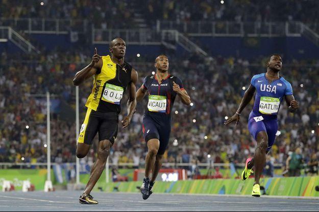 Usain Bolt a remporté pour la 3e fois consécutive la finale du 100 mètres, aux JO de Rio