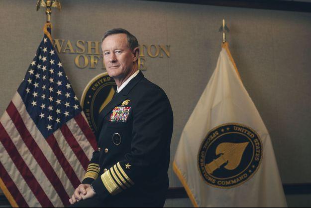 « Bill » McRaven, 57 ans, commandant du Special Operations Command depuis août 2011. La traque et l'élimination de Ben Laden, le 2 mai 2011, ont été son plus grand défi.