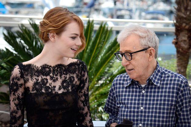 C'est la 2ème fois qu'Emma Stone travaille sous la direction de Woody Allen.