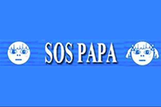 "Le logo de l'association ""SOS Papa""."