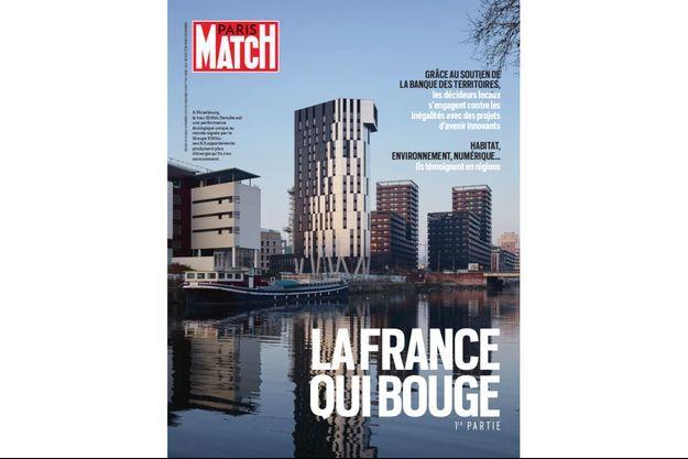 """""""La France qui bouge"""" à la une, dès jeudi 1er avril dans Paris Match."""