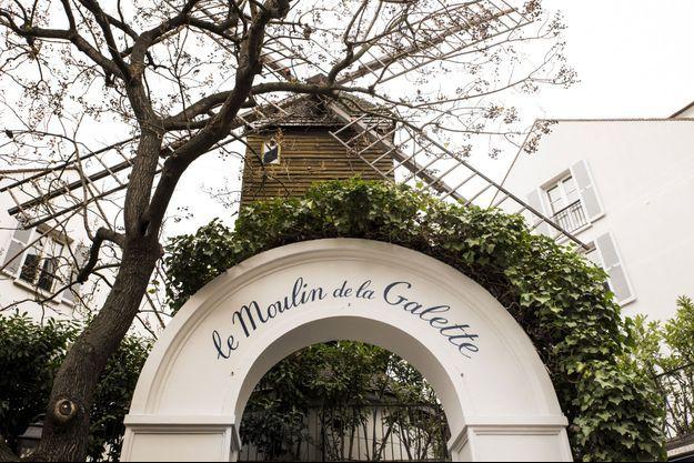 Le Moulin de la Galette à Montmartre fait tourner les ailes de l'Histoire
