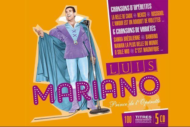 Luis Mariano qui a propulsé les opérettes sur les plus grandes scènes du monde sera à l'honneur en juillet prochain, à l'occasion de la sortie d'un coffret collector de 5 CD pour 100 titres en hommage à l'artiste.
