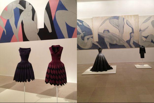 Au musée d'Art moderne de la ville de Paris, les créations d'Alaïa dialoguent avec «La Danse» de Matisse.