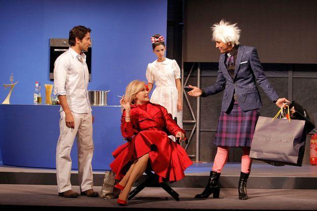 "Amanda Lear dans ""Divina"", de Jean Robert-Charrier."